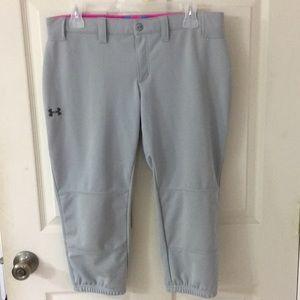 Under Armour Girls/womens Heat Gear Softball Pants